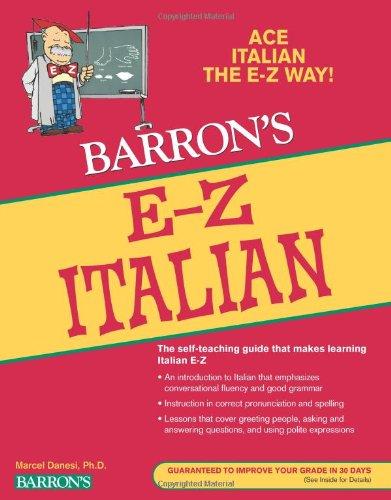 E-Z Italian (Barron's E-Z Series)