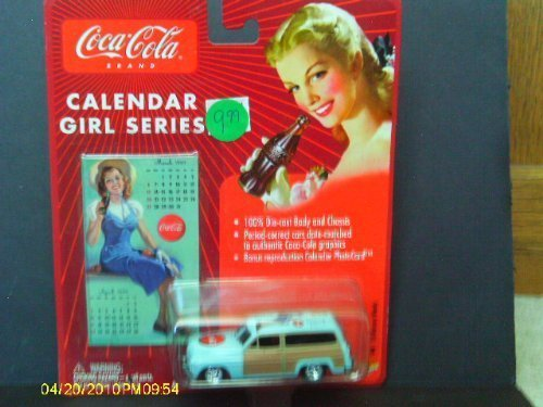 #4 '50 Mercury Woody Calendar Girls Series