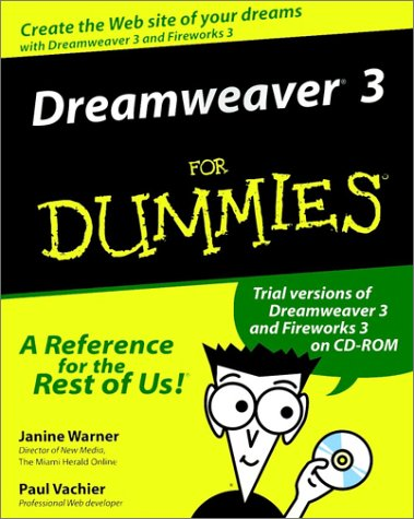 Image for Dreamweaver 3 for Dummies
