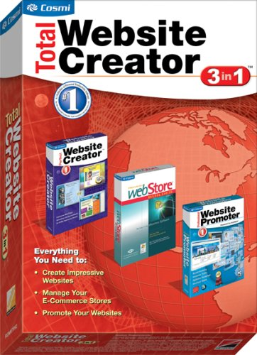 Total Website Creator 3 in 1 (Web Site Software compare prices)