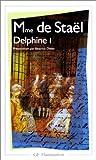 echange, troc Madame de Staël - Delphine, tome 1