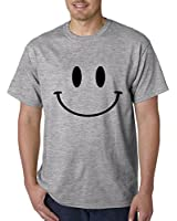 Expression Tees Big Smiley Face Mens T-shirt