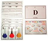 Celtic-Instruments.com Set of 36 Color Coded Chord Cards (for use with Kidsplay Kid's Handbells)