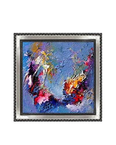Sanjay Punekar Harmony VII Framed Canvas Print