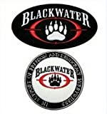 2 Lot Blackwater Security Army Combat Mercs Iraq Cap Shirt Iron Patch BY patchGuRu
