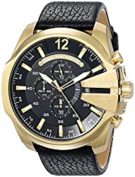 Diesel Diesel Chi Chronograph Black Dial Mens Watch-DZ4344