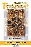 echange, troc Anonyme - Nouveau testament (grands caractères)