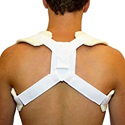 BraceAbility Figure 8 Clavicle Brace & Posture Support Strap - Small