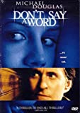 Don't Say a Word (Widescreen) (Bilingual)
