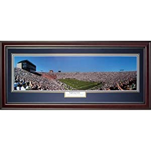 University of Notre Dame Fighting Irish (Fighting Irish) Deluxe Framed Panoramic... by PalmBeachAutographs.com