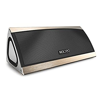 Mocreo Portable Wireless Bluetooth Speaker W 3d Surround Stereo Sound Full Metal Housing Wireless Mobile Rechargeable W Latest Csr Bluetooth 4 0 Hands Free 8hrs Playtime 30ft Bluetooth
