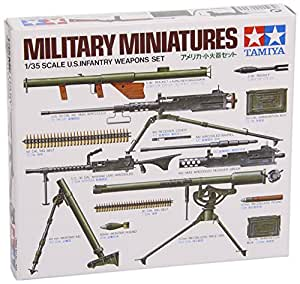 Tamiya US Infantry Weapons Set