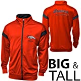 Denver Broncos Script Big Sizes Full Zip Track Jacket - Orange (4XL) at Amazon.com