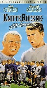 Knute Rockne All American [VHS]