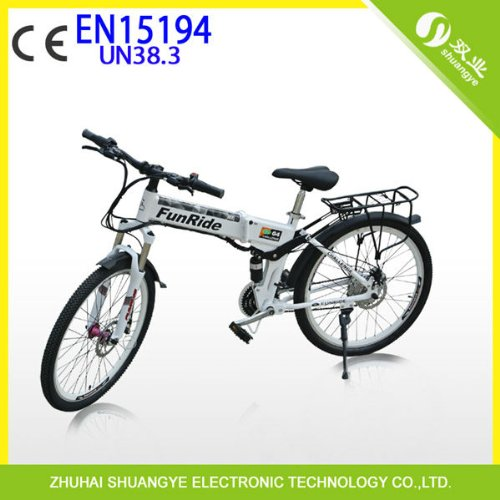 350w,36v 26inch Folding Electric Bicycle Mountain with En15194 Lifetime Warraty - Fast Shipping