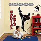 Martial Arts Giant Wall Decals