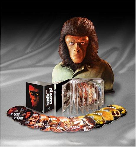 猿の惑星 コンプリート・コレクション (特製フィギュア付) [DVD]