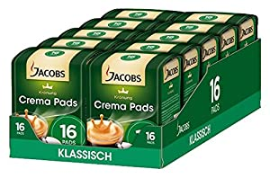 Buy Jacobs Krönung 16 Classic Crema Coffee Pods (105g) 105 g (Pack of 10) by Jacobs