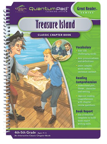 Quantum Pad Learning System: Treasure Island Interactive Book and Cartridge