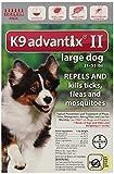 K9 Advantix II, Large Dogs, 21 to 55-Pound, 6-Month