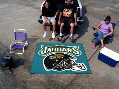Fanmats NFL - Jacksonville Jaguars Tailgater Rug 5'x6'