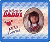 Hugs & Kisses for Daddy - Photo Magnet Frame