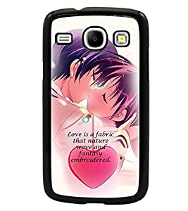 PrintDhaba Quote D-3051 Back Case Cover for SAMSUNG GALAXY CORE i8262 (Multi-Coloured)