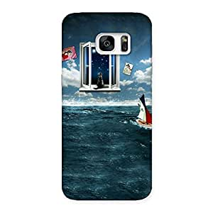 Impressive Water Wonder Back Case Cover for Galaxy S7 Edge