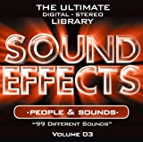 Sound Effects Vol. 3 - People and Sounds