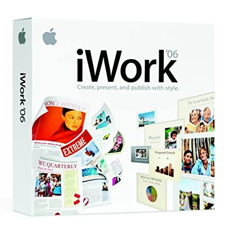 Apple iWork '06 (Mac DVD) [OLD VERSION]