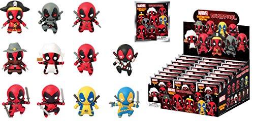 Marvel Deadpool 3D Foam Portachiavi Mystery Pack (1 Random)