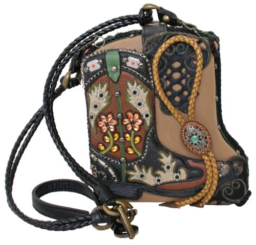 Western Convertible Clutch Handbag