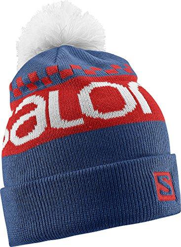 salomon-free-beanie-cap-for-man-color-blue-size-osfa