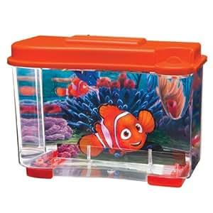Penn plax finding nemo 3d aquarium tank kit for Fish tank supplies near me