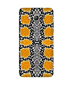 Yellow And Black Samsung Galaxy Grand Prime Case