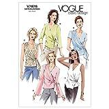 Vogue Patterns V7876 Size 18-20-22 Misses' Top