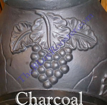 The-Blue-Rooster-Grape-Chiminea-in-Charcoal