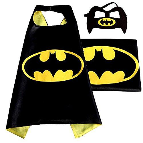 [Maxwell Cosplay Superhero Dress Up Costumes Mask Costumes Kids Masks Childrens Halloween Batman] (Batman And Robin Halloween Costumes For Adults)
