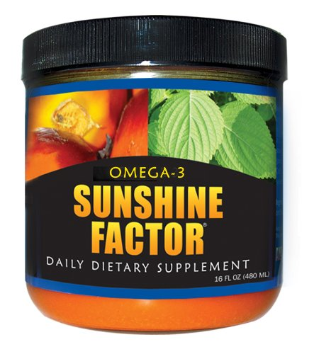 Omega-3 Sunshine Factor 16 Oz (480 Ml)