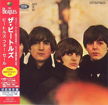 BEATLES FOR SALE (CD MINI LP OBI) by THE BEATLES