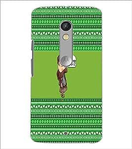 PrintDhaba Cartoon D-3654 Back Case Cover for MOTOROLA MOTO X PLAY (Multi-Coloured)