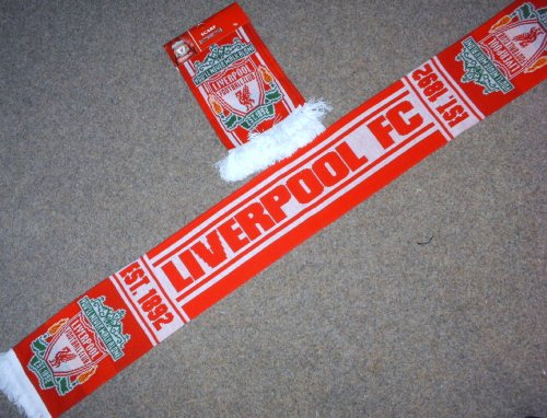 Liverpool F.C Jacquard scarf est 1892