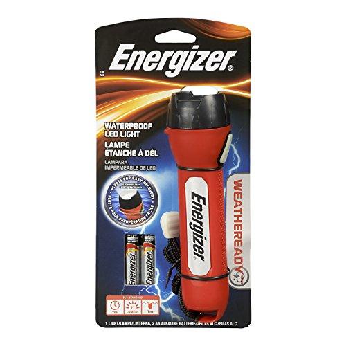 Energizer Weatheready 1-LED Waterproof Flashlight (Batteries Included)