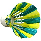 SKY Coloured ShuttleCock, Pack Of 10