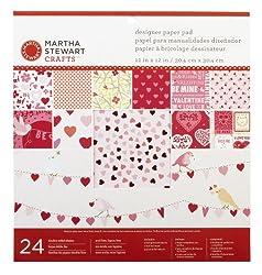 Martha Stewart Crafts Enchanted Woodland Paper Pad, 24 Sheets