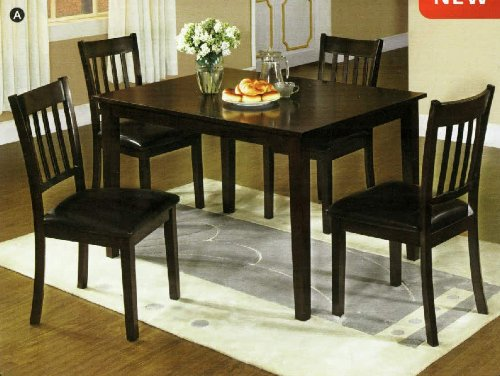 5 pc dining table set holiday deals for Dining table set deals