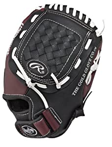Rawlings Players Series 10.5-inch Youth Baseball Glove, Left-Hand Throw (PL105BB)