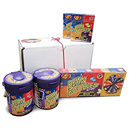 Beanboozled Gift Box Including 2 Dispensers, 1 Spinner Box, and 2 Refills