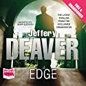 Edge Audiobook by Jeffery Deaver Narrated by Skipp Sudduth