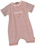 Lana naturalwear -  rojo de 100% algod�n, talla: 50/56cm (0-3 meses)